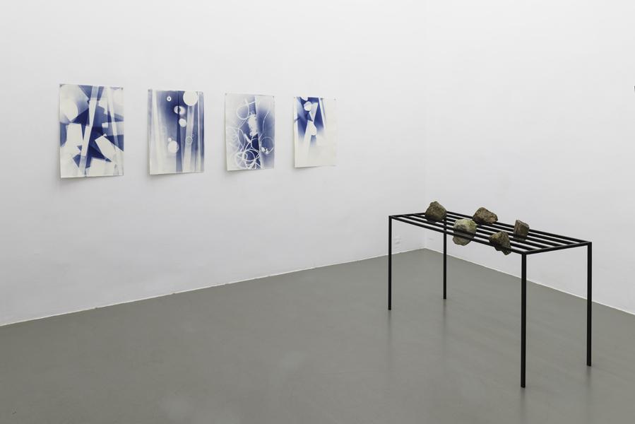 Stein-Tisch, Wiener Blau #5, #8, #15, #27